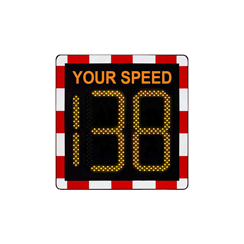Vehicle Activated Speed Sign