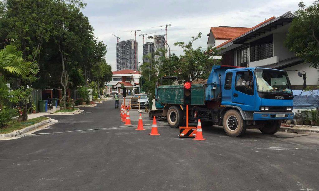 Hrvatski pokretni semafori na ulicama Singapura Hrvatski Izvoznici